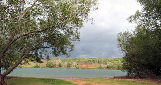 Ranger Uranium Mine lake