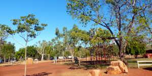 Camping and Caravans at Victoria River