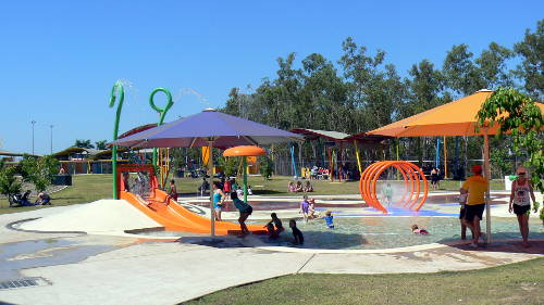 Playgrounds at the Palmerston Waterslides