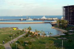 Darwin Port man-made beach