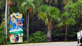 Territory Wildlife Park Entrance