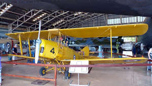 Aviation museum biplane